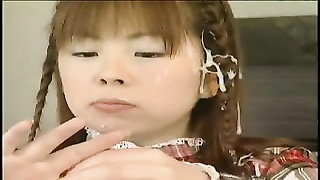 Japanese Teen Likes  Seed On Food!