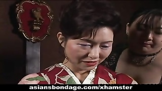 Japanese Milf In Kimono Gets Trussed Up