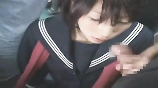 Have An Orgasm On Japanese Schoolgirl Uniform