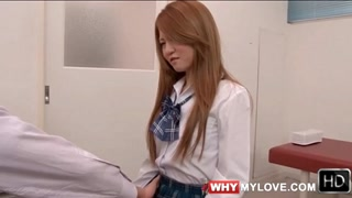 Speculum Opens Up Her Japanese Schoolgirl Pussy