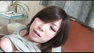 Small Wooly Japanese Sweetheart  Gets Creampie