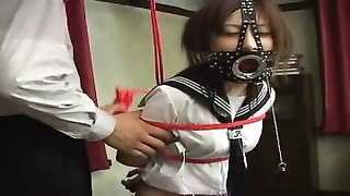 BDSM Asami Part 3 Face Masked Bj