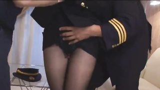 Japanese Streetwalker In Uniform Truthfully Liking Freaky Sex