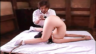 BDSM Training Teen Arumi Share One