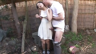 Japanese Teenage  With Ancient Stud And Numerous Guy Bukkake