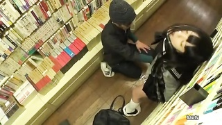 JP Girl In The Book Store