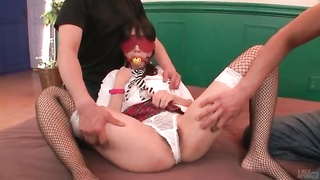 Blindfolded And Gagged Schoolgirl Touched