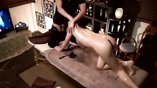 Well Wild Japan Chick Ravage During Oily Rubdown