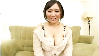 Big-titted Asian Being Interviewed