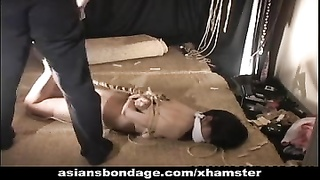 Beautiful Girl Tied Up And Caned