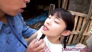 Limited Japanese Babe Outdoor Facialized