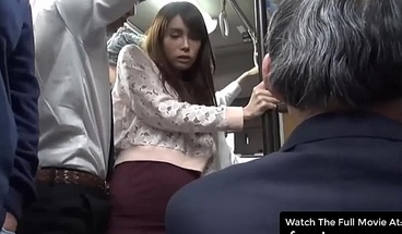 Japanese Wife Gets Sex On The Public Bus