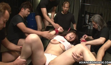 Japanese Brunette With Big Tits, Eri Makino Likes Bondage, Un