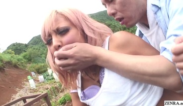 Uncensored JAV Raw Outdoor Sex With Tan Gyaru Subtitles