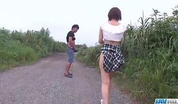 Nasty Outdoor Japan Threesome With Mao – More At Javhd Net