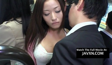 Asian Babe Gets Fucked On The Japanese Bus JAV