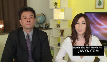 Japanese Porn - Hot Newscaster Gets Groped On Live TV And Fucked Hardcore