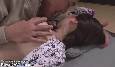 Japanese Wife Helped And Fucked By Husbands Friend