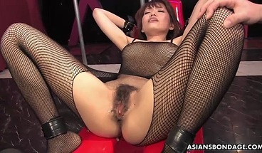 Yui Shimizu Is Moaning While Getting Both Holes Gently Finger