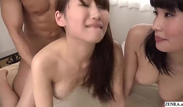 JAV FFM Threesome Honoka Mihara And Misato Nonomiya